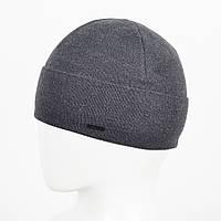 Мужская Шерстяная шапка Veer-Mar. № 468 Серый