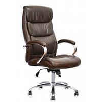 Офисное компьютерное кресло Special4You Eternity для руководителя brown (E6026)