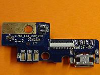 Bravis A552 плата антенны + microUSB ( V178B_E33_USB_V1.0 )