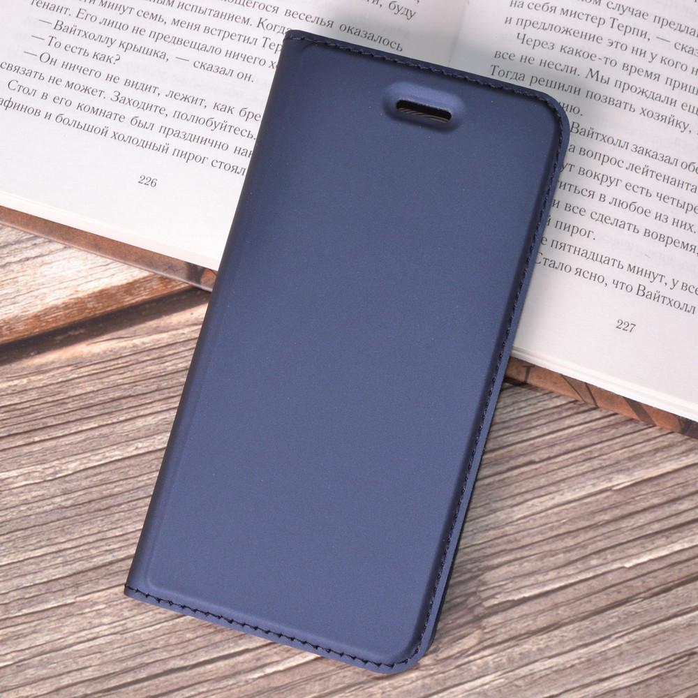 Чехол-книжка Dux Ducis для iPhone 7 / iPhone 8 blue