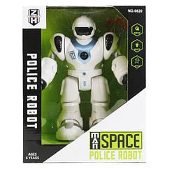 """Интерактивный робот """"Space Police"""" (голубой) 0820"""