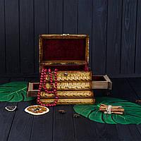 Шкатулка с секретом ручной работы, оригинальный подарок, фото 1