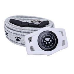 Водонепроникний GPS трекер для домашньої тварини (коти, собаки) D40 Білий