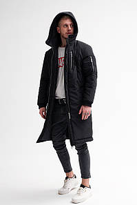 Зимняя куртка, парка Сноу Черная