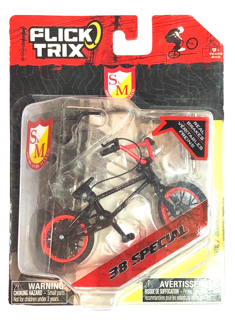 Фингербайк Flick Trix S&M Bicycles 38 Special