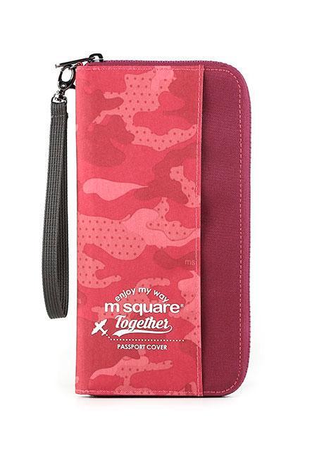 Органайзер для документов M Square розовый хаки