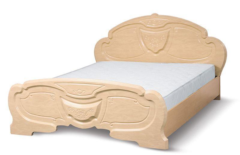 Кровать 2-сп.1.6  Эмилия (перламутр)