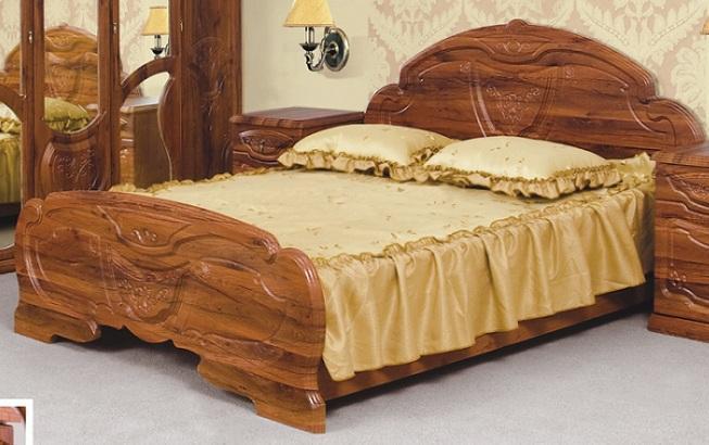 Кровать 2-сп.1.6  Эмилия