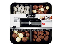 Deluxe Микс орехов и фруктов в шоколаде