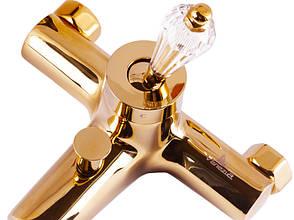 Diamonod Gold Смеситель для ванны 5010201 VENEZIA, фото 3