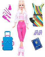 Кукла Ася с голубым чемоданом, Путешествие, Ася