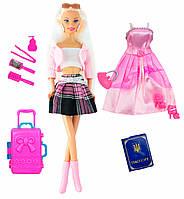 Кукла Ася с розовым чемоданом, Путешествие, Ася