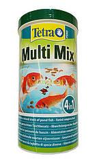Tetra Pond Multi Mix корм микс для прудовых рыб, 1 л