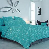 Комплект постельного белья ТЕП евро размер Unikorn Blue