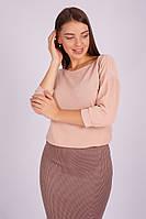 Блузон женский вязаный с люрексом  41145, фото 1