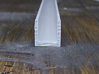 Алюминиевый швеллер 12х12х1,5  П профиль, Анод, фото 1