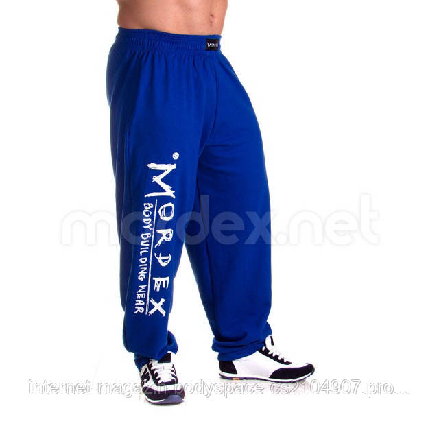 Mordex, Штаны спортивные зауженные Mordex синие MD3548