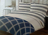Комплект постельного белья ТЕП Brooke бязь 210-200 см синий