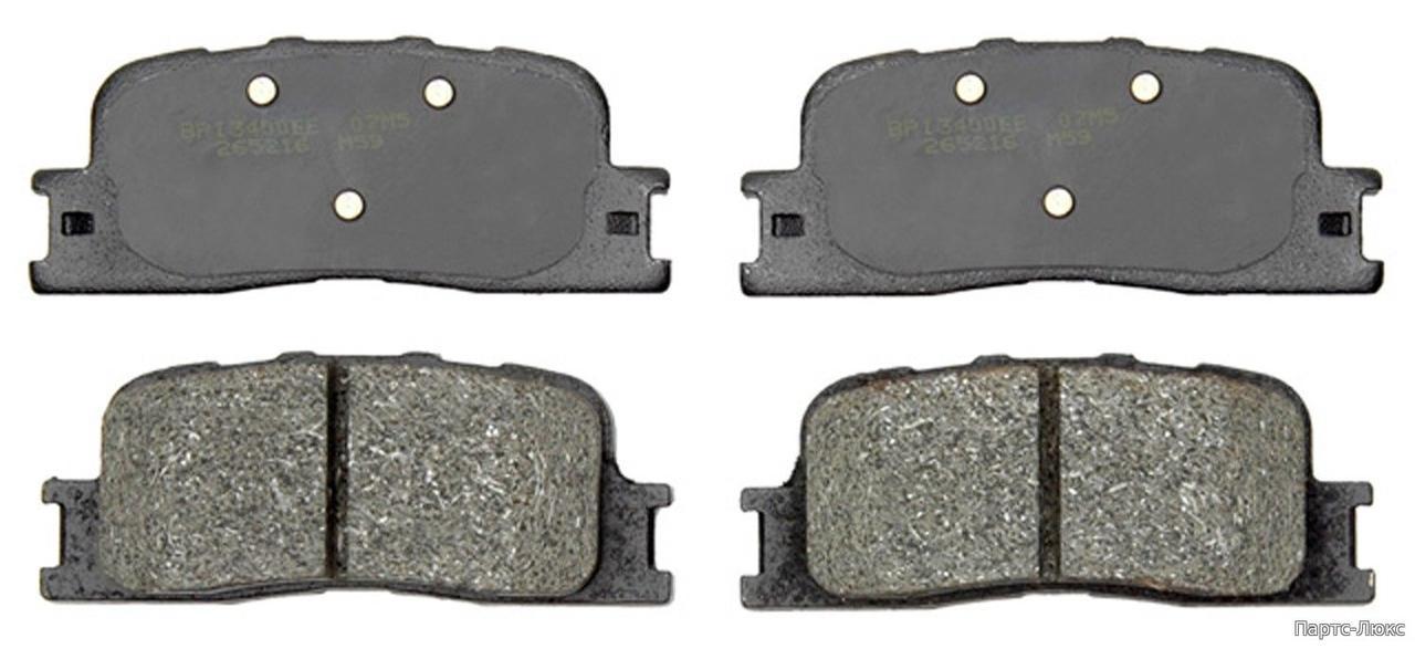 Колодки тормозные задние, дисковые ACDELCO 17D885
