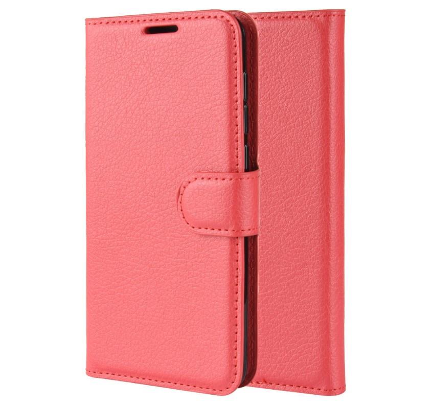 Чехол-книжка Bookmark для Samsung Galaxy A10 red