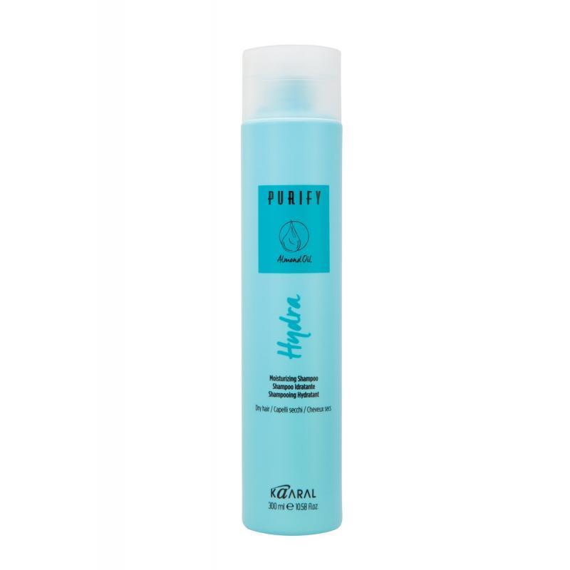 Шампунь увлажняющий для сухих волос Kaaral Hydra Shampoo PURIFY,  300 мл
