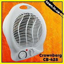 Тепловентилятор Crownberg CB-428,Дуйка напольная.Обогреватель портативный