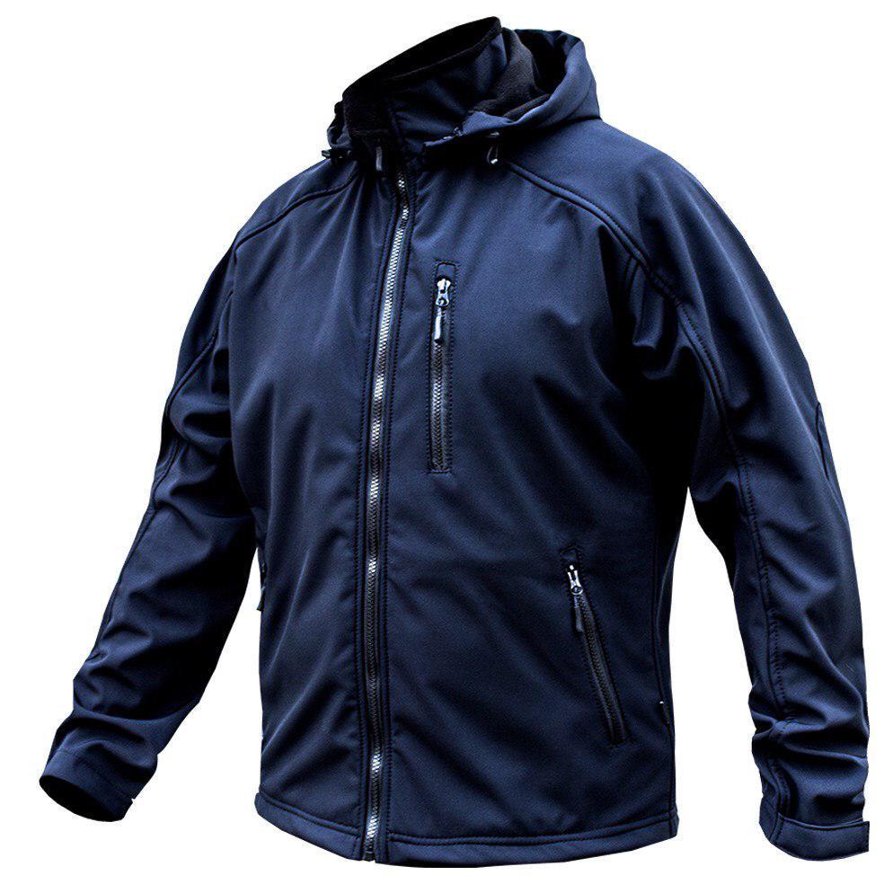 "Куртка SoftShell ""DIVISION"" DARK BLUE (МЧС)"