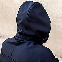 "Куртка SoftShell ""DIVISION"" DARK BLUE (МЧС), фото 3"