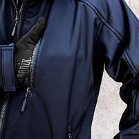 "Куртка SoftShell ""DIVISION"" DARK BLUE (МЧС), фото 4"