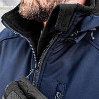 "Куртка SoftShell ""DIVISION"" DARK BLUE (МЧС), фото 8"