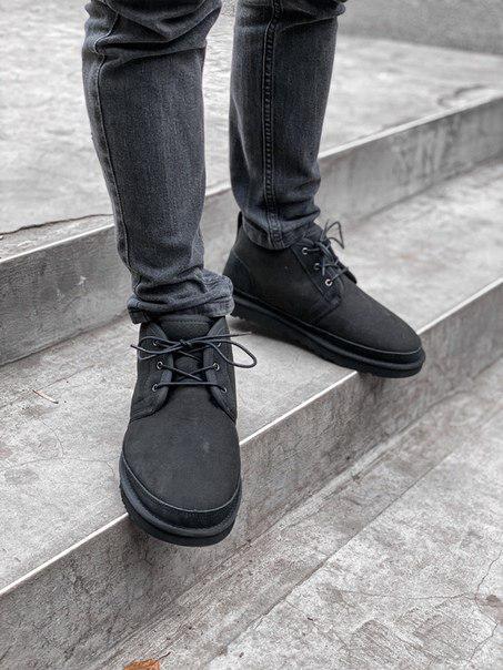 Мужские ботинки UGG  из натурального замша