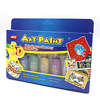 """Клей декор. металлик """"Art paint"""", 22мл*7 цв."""