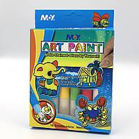 "Клей декор. ""Art paint 3D стекла"", 10,5мл*6 цв"