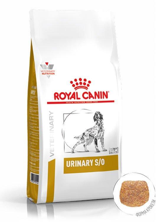 Корм при лечении и профилактике мочекаменной болезни Royal Canin Urinary Dog, 13 кг