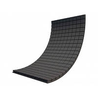 Панель из акустического поролона Ecosound Tetras Black 100x200 см, 20 мм, чёрный графит