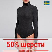 Термобелье боди с шерстью Швеция,  термобелье женское зимнее