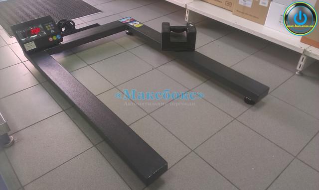 Паллетные весы для европоддонов до 500 кг ЗЕВС ВПЕ 1200х800.