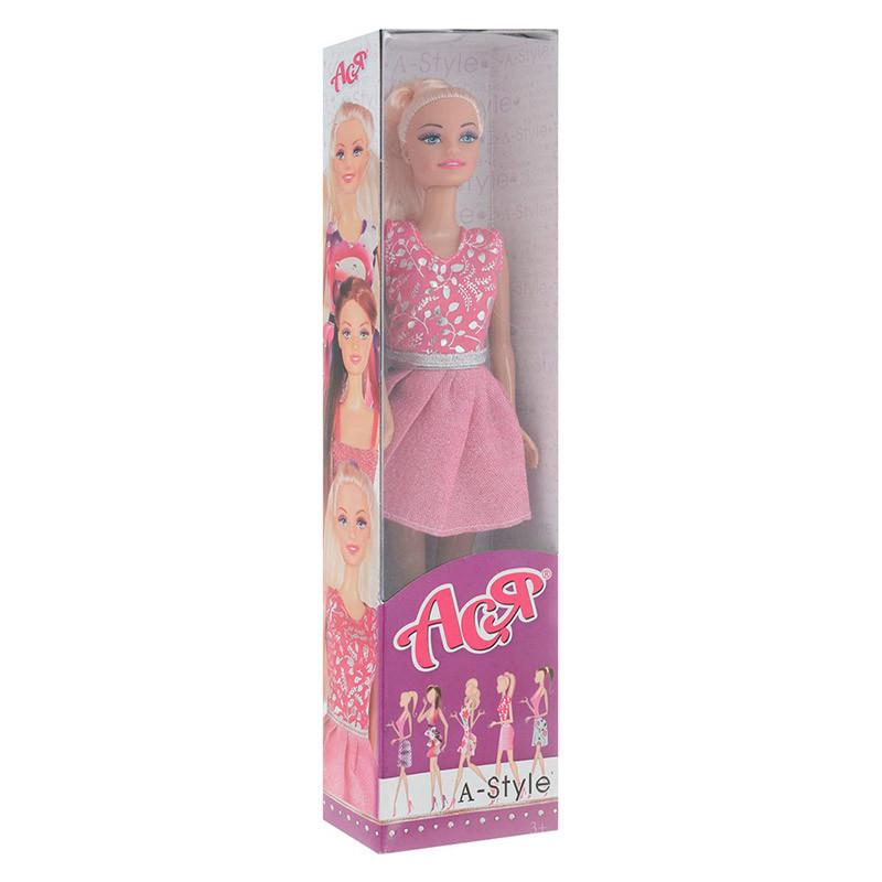 35050.Лялька Ася з аксесуарами