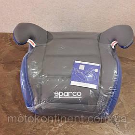 Детское Автокресло Бустер Sparco F100K Blue/Grey - Италия  Для детей от 3-х до 12-ти лет