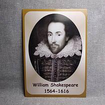 Портреты английских поэтов и писателей Шекспир