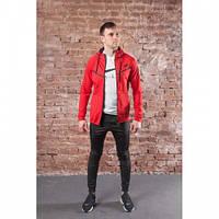 Мужской спортивный костюм Nike ND96 красно-черный весна-осень L