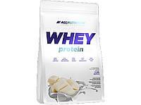Протеин Whey Protein, All Nutrition, белый шоколад с клубникой, 2200 г