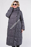 Зимние теплое пальто-пуховик  Tongoi 1956, фото 1