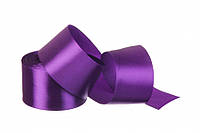 50 мм атласна стрічка фіолетова (23 м) 34