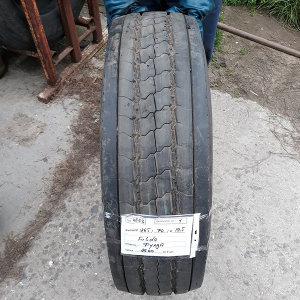 Грузовые шины б.у. / резина бу 265.70.r19.5 Fulda Regiocontrol Фулда