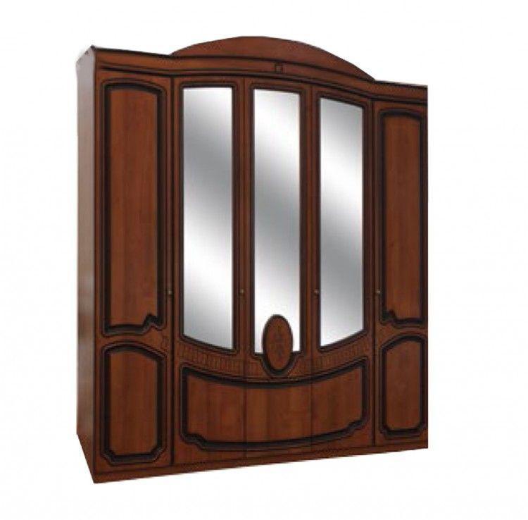 Шкаф 5Д Полина (патина)