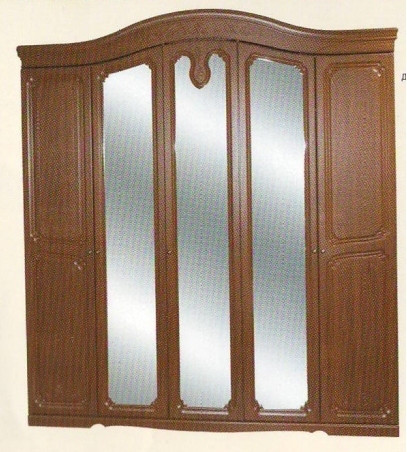 Шкаф 5Д Луиза