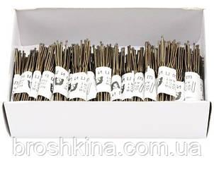 Шпильки для волосся довжина 5 см 500 шт/уп.