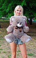 Плюшевый Мишка 70см. Все Цвета  Мишка Томми игрушка Плюшевый медведь Мягкие мишки игрушки Ведмедик (Капучино), фото 1