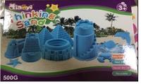 Набор кинетический песок с формами